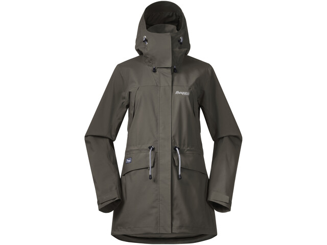 f04a4cb4 Bergans Breheimen 2L Jacket Women green mud/aluminium at Addnature.co.uk